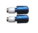 Picture of RENNTEC HANDLEBAR END WEIGHTS - BLUE