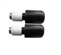 Picture of RENNTEC HANDLEBAR END WEIGHTS - BLACK