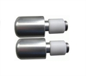 Picture of RENNTEC HANDLEBAR END WEIGHTS - SILVER