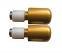 Picture of RENNTEC HANDLEBAR END WEIGHTS - GOLD