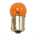 Picture of 12V 10W - BA15 SMALL HEAD AMBER GLASS
