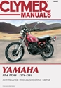 Picture of CLYMER MANUAL -  XT500 & TT500 1976 - 1981
