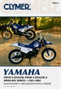 Picture of CLYMER MANUAL -  PW50-PW80 1981 - 2002