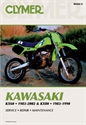 Picture of CLYMER MANUAL -  KX125 1992 - 2000