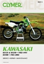 Picture of CLYMER MANUAL -  KX125 & KX250 1982 - 1991 KX500 1983 - 2004
