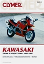 Picture of CLYMER MANUAL -  ZX600 A1-C5 1985 - 1997