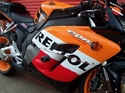 Picture of CRASH PROTECTORS - HONDA CBR1000RR 04 - 07