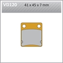 Picture of VD120 VESRAH DISC BRAKE PADS