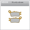 Picture of VD153 VESRAH DISC BRAKE PADS