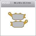 Picture of VD163 VESRAH DISC BRAKE PADS