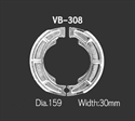 Picture of VB308 VESRAH DRUM BRAKE SHOES