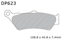 Picture of RDP623 - DUNLOPAD RDP - X RACE RACING DISC BRAKE PADS