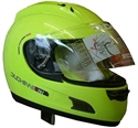 Picture of DUCHINNI D701 - 62(XL) NEON YELLOW  FULL FACE HELMET