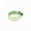 Picture of UNIVERSAL CHROME EXHAUST PIPE CLAMP 52MM