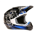 Picture of THH TX11 #8 BEAST YOUTH HELMET LARGE BLACK/BLUE