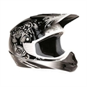 Picture of THH TX11 #8 BEAST YOUTH HELMET LARGE  BLACK/SILVER
