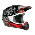 Picture of THH TX11 #8 BEAST YOUTH HELMET LARGE  BLACK/RED
