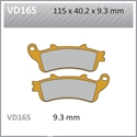 Picture of VD165 VESRAH DISC BRAKE PADS