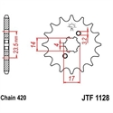 Picture of 1128-13 FRONT SPROCKET