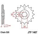Picture of 1407-10 FRONT SPROCKET