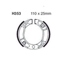 Picture of H353 EBC DRUM BRAKE SHOES