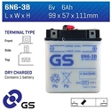 Picture of 6N63B GS BATTERY
