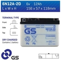 Picture of 6N12A2D GS BATTERY