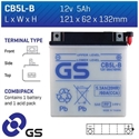 Picture of CB5LB GS BATTERY
