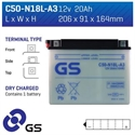Picture of C50N18LA3 GS BATTERY