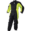 Picture of RICHA TYPHOON RAIN OVERALL (L) BLACK & FLUORESCENT YELLOW