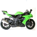 Picture of CP0229BL CRASH PROTECTORS - KAWASAKI ZX10R 2008-2010 IN BLACK