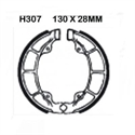 Picture of H307 EBC DRUM BRAKE SHOES GROOVED