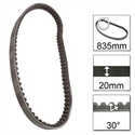 Picture of DRIVE BELT FOR CHINESE SCOOTERS - 20 - 30 - 835