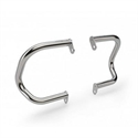 Picture of 1990406 ROYAL ENFIELD INTERCEPTOR COMPACT ENGINE GUARDS STAINLESS STEEL