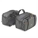 Picture of AH202 EXPANDABLE SIDE BAGS (16-25 LITRES) DARK GREY ALPHA RANGE